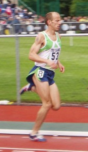 Alan Webb (runner) - Alan Webb at the 2006 Prefontaine Classic