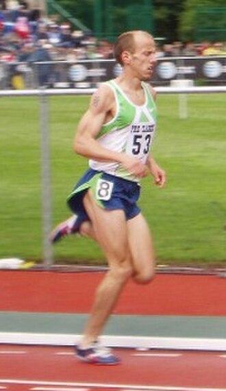Alan Webb (runner) - Alan Webb at the 2006 Prefontaine Classic