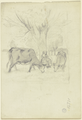 Weidende Kühe mit Bäuerin (SM 16371vz).png