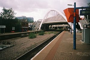 Wembley Stadium railway station - Image: Wembleystat 2