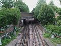 West Finchley stn high northbound.JPG
