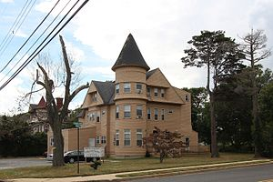 West Long Branch, New Jersey - House on Cedar Avenue