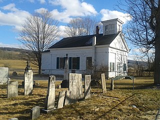 West Newark Congregational Church and Cemetery United States historic place