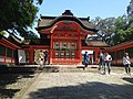 West gate of Upper Shrine of Usa Shrine.jpg