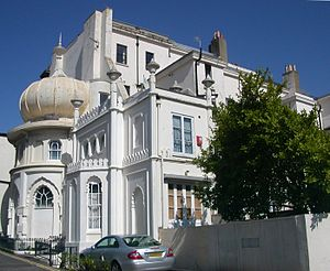 Amon Henry Wilds - The Western Pavilion, built by Amon Henry Wilds as his Brighton home
