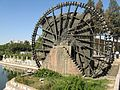 Wheel on Orontes River, Hama - panoramio.jpg