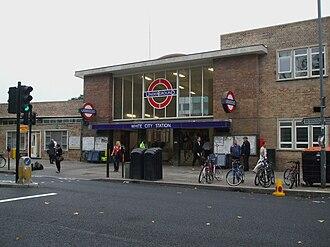 White City tube station - Station entrance in 2008