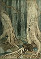 White Fang - He felt the lurking of danger, unseen and unguessed.jpg
