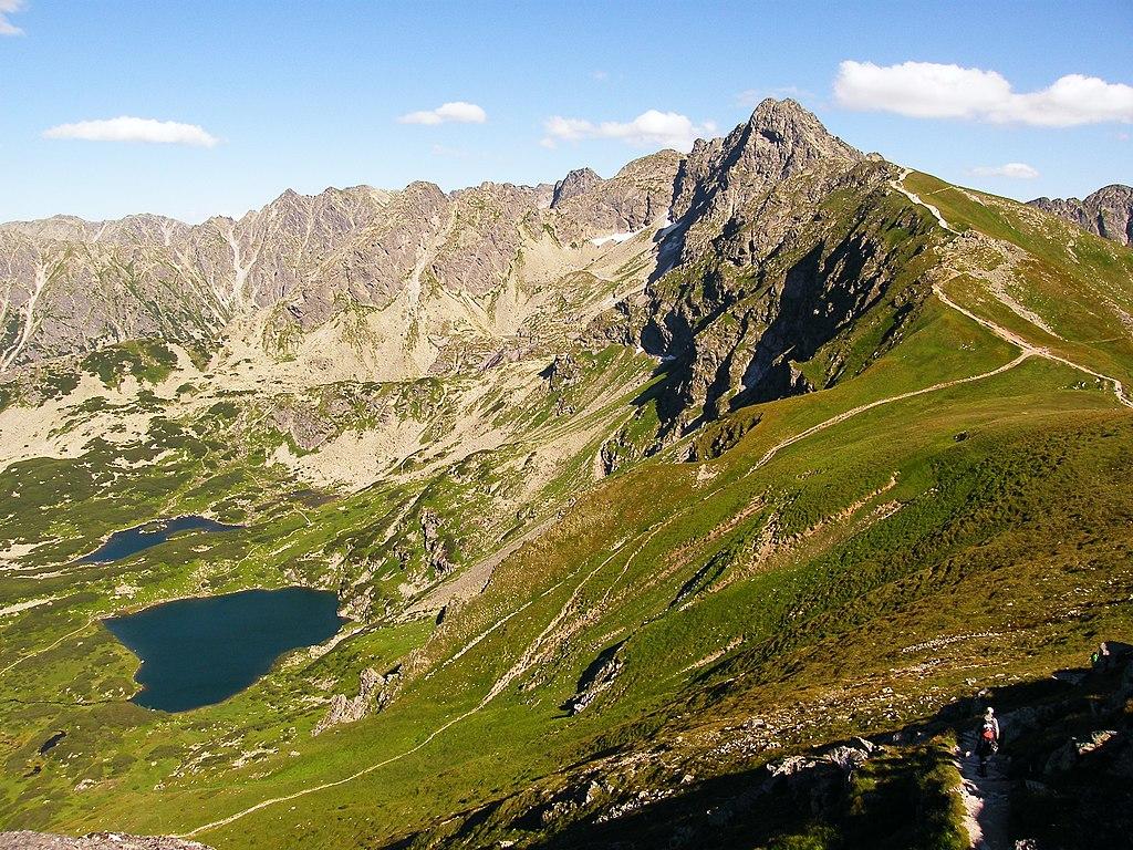 Vue depuis le mont Kasprowy Wierch à Zakopane - Photo de Sławomir Hutryk.