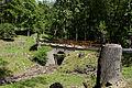 Wien-Hietzing - Naturschutzgebiet 1 - Lainzer Tiergarten - Brücke über den Gütenbach am Hirschgstemm.jpg
