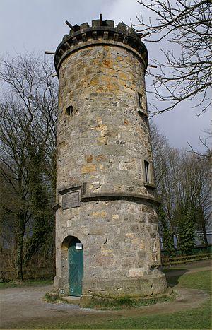 Johann Weyer - The Wier tower in Tecklenburg