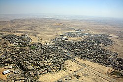 Aerial view of Arad
