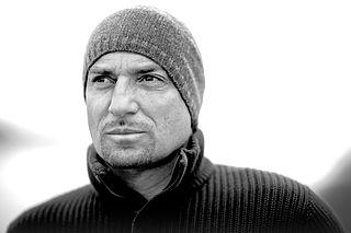 Marc Sluszny Belgian extreme sportsman