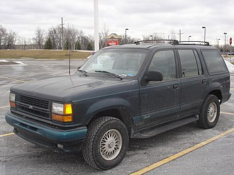 Mercury Mountaineer - Ford Explorer Limited (1993), indirect Ford predecessor of the Mercury Mountaineer