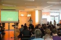Wikimedia Hackathon Vienna 2017-05-19 opening 18.jpg