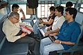 Wikimedians and Co-passengers - Bangla Wikipedia National Workshop Preparation - Aranyak Express - Howrah - 2015-02-25 6080.JPG
