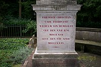 Wilhelm von Humboldt grave inscription.jpeg