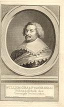 Willem Graaf van Nassau. Engraving by Jacobus Houbraken 570006