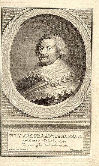 Jacobus Houbraken - Image: Willem Graaf van Nassau. Engraving by Jacobus Houbraken 570006