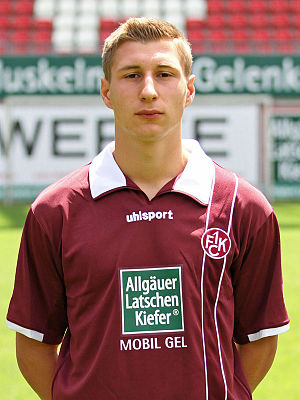 Willi Orban - Orban with 1. FC Kaiserslautern in 2011