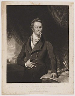 William Lowther, 2nd Earl of Lonsdale British politician