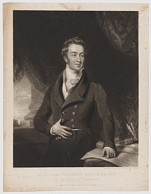 William Lowther, 2nd Earl of Lonsdale - Image: William Lowther, 2nd Earl of Lonsdale