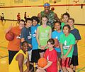 Williams with youth participants (9037698020).jpg
