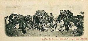 Windhoek alla fine del diciannovesimo secolo