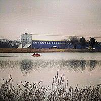 Wingfoot Lake Park and Goodyear Blimp Hangar.jpg