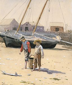 Winslow Homer - A Basket of Clams.jpg