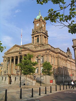 Birkenhead Town Hall - Image: Wirral Museum old Town Hall, Birkenhead geograph.org.uk 237692
