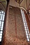 Wismar, St. Georgen, Fragmente mittelalterlicher Fresken. 2.JPG