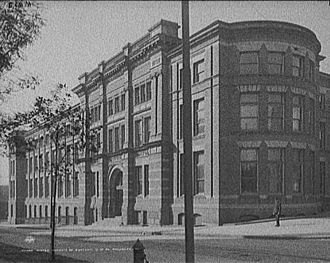 Wistar Institute - The Wistar Institute of Anatomy and Biology, c. 1900–1910