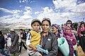 Women and child, Ladakh (14480366849).jpg