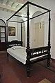 Wooden Four-poster Bed - Bedroom - Swami Vivekanandas Ancestral House - Kolkata 2011-10-22 6101.JPG