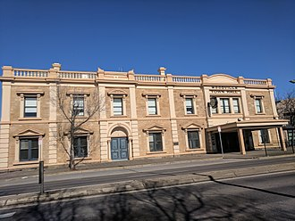 City of Charles Sturt - Woodville Town Hall at Charles Sturt civic centre in 2017