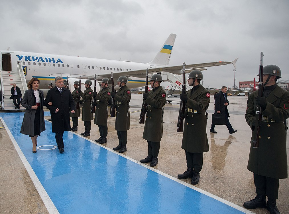 Working visit of the President of Ukraine Petro Poroshenko to the Turkish Republic (2019-01-05) 04.jpg