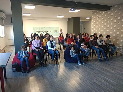 Workshop for Nor Hachn N1 school at Wikimedia Armenia 01.jpg