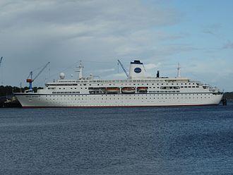 MS Deutschland - World Odyssey.