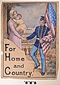"World War I Marine Recruiting Poster, ""For Home and Country"" by Matthew Hastings.jpg"