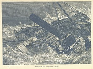 PS Rothsay Castle (1816) - The wreck of the Rothsay Castle