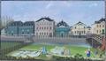 Wuppertal Mäuerchen und Alexanderbrücke 1830.png