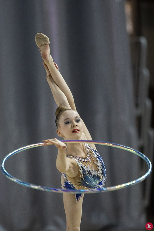 XVIII traditional competitions in rhythmic gymnastics Baltic pearl (Kaliningrad) 03.jpg