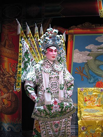 Cantonese Opera exhibit at the Museum