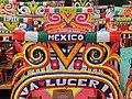 Xochimilco colorful boats.JPG