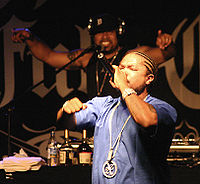 Xzibit under en konsert i Berlin, 2007