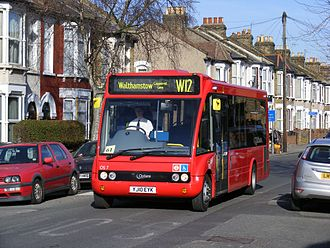 HCT Group - Optare Solo on route W12 in March 2010