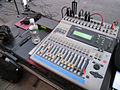 Yamaha 01v, FOH, Music for a Change - Make Music New York Fest 08.jpg