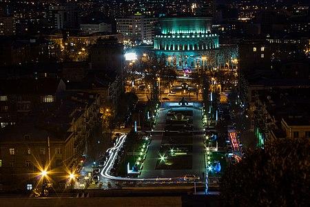Yerevan Opera House from Cascade.jpg