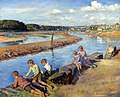 Young anglers at Hayle - Stanhope A Forbes - 1930.jpg